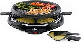 Salton TPG-315 6-Person Nonstick and Raclette,Black