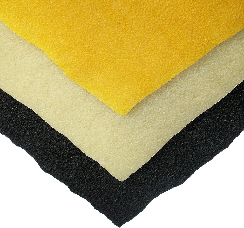 1//8 Black Crepe Rubber 3.2mm 16 x 18 Sheets