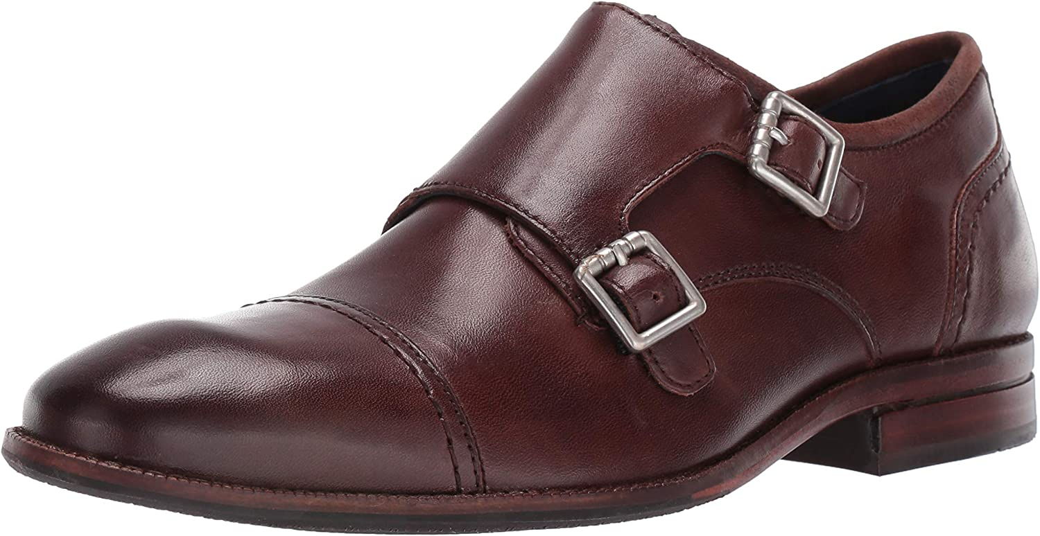 Cole Haan Mens Wagner Grand Monk Monk-Strap Loafer