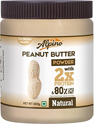 Alpino Unsweetened Natural Peanut Butter Powder, 400g