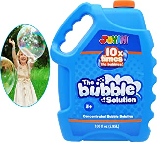 JOYIN 100 Oz Concentrated Bubble Solution (up to 8 Gallon) for Large Summer Party Celebrations, Party Favor, Bubble Summer...