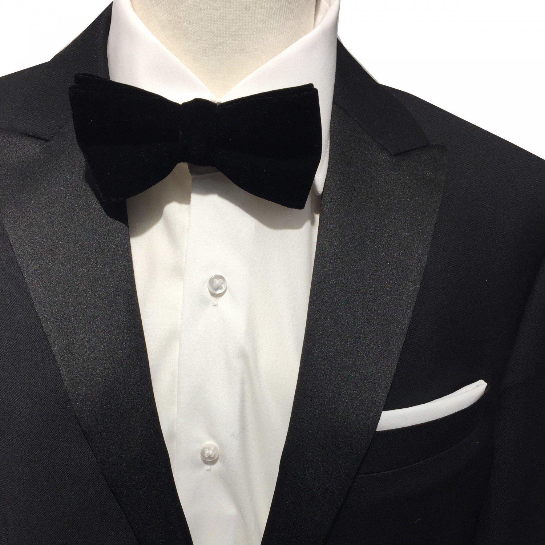 Hombre de terciopelo Pajarita con Gratis Juego de toallas de inserción, lazo 100% algodón negro y kavalier Toalla Lino/algodón color blanco ideal para camisa, traje, Smoking o chaqueta: Amazon.es: Iluminación