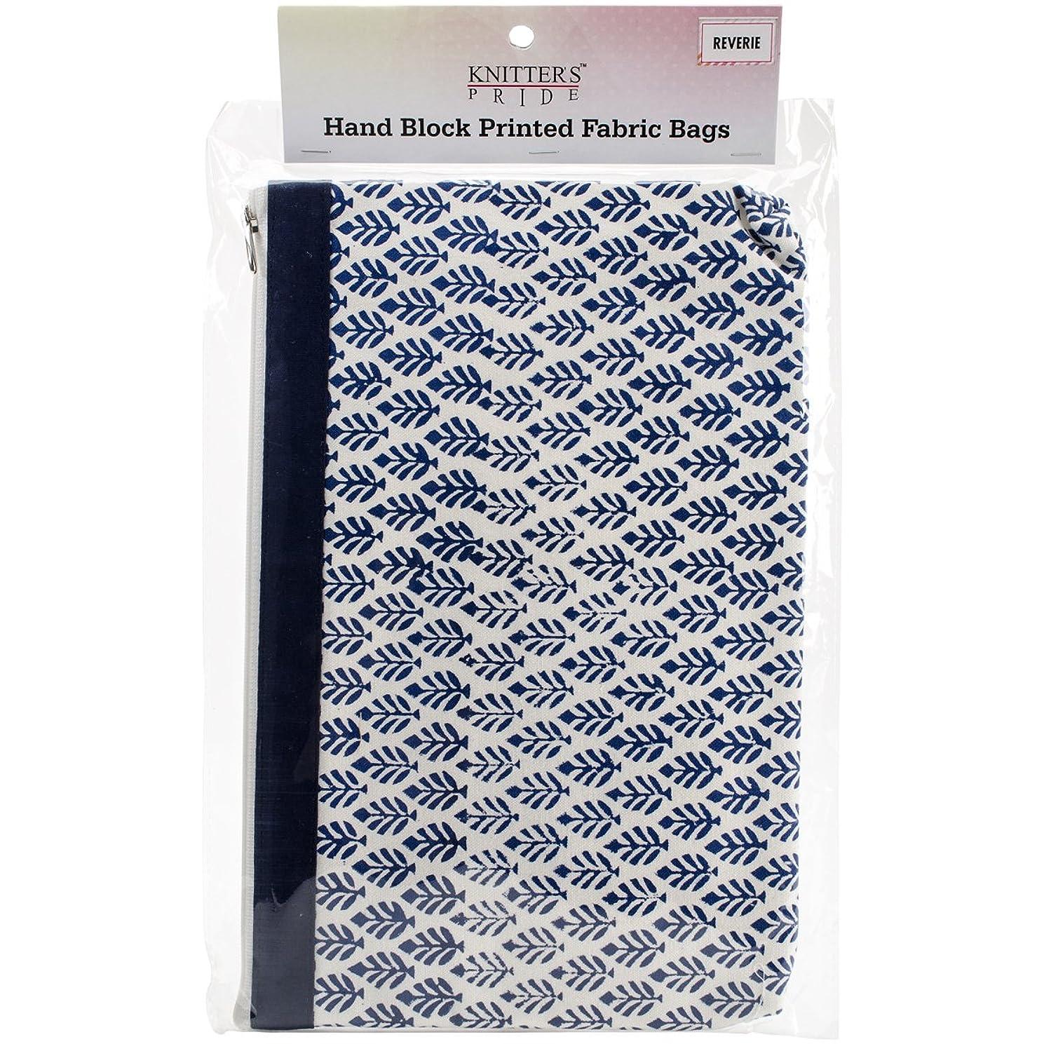 Knitter's Pride 810053 Reverie Full Fabric Zipper Pouch-Large