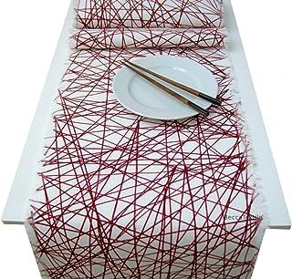 Camino de mesa geometrico,Manteles modernos, BeccaTextile.