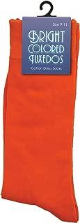 Fun Costumes Bright Colored Tuxedos Orange Dress Socks Standard