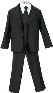 Boys Formal 5 Piece Suit Shirt Vest