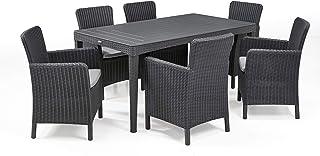 Amazon.es: conjunto mesa y sillas jardin