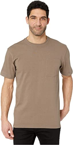 Short Sleeve Outfitter Solid One-Pocket T-Shirt