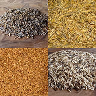 BINESHII WILD RICE SAMPLER GIFT BOX. 1/2 POUND EACH GOURMET, CHEF'S RESERVE, CHEF'S SOUP, PILAF BLEND, AND OUR WORLD FAMOU...