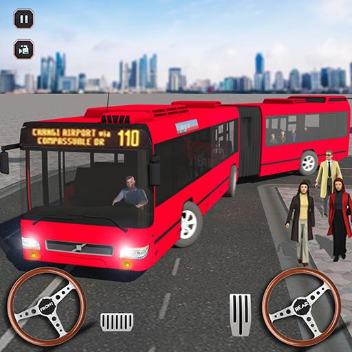 Intelligent Bus autocar Auto-école Simulateur ville métropolitaine Conduite en bus Jeux GRATUIT