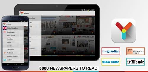 『myNews』のトップ画像