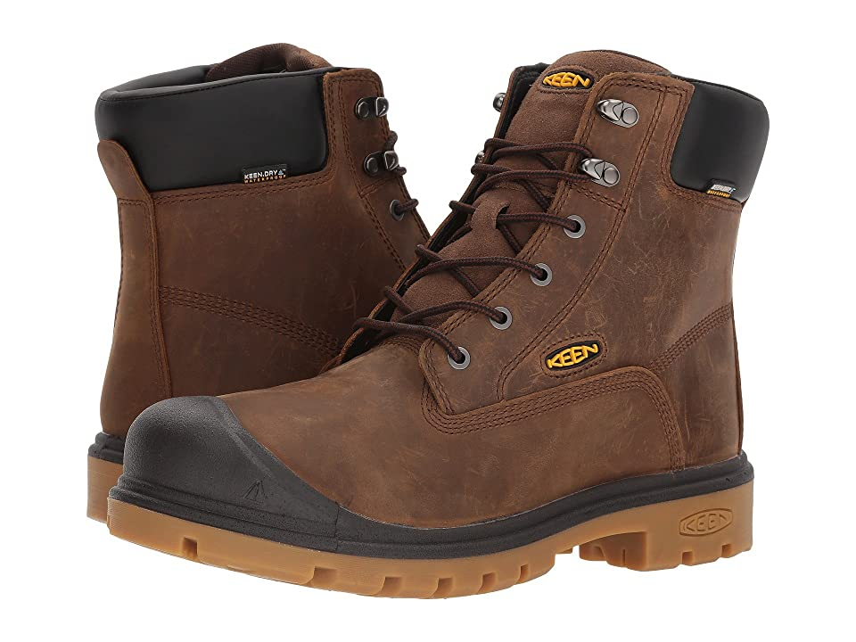 Keen Utility Baltimore 6 WP Soft Toe (Brown) Men