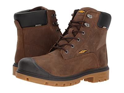 Keen Utility Baltimore 6 WP Soft Toe (Brown) Men