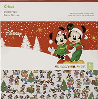 Cricut Deluxe Paper, Disney, Mickey Friends Holiday Cheer