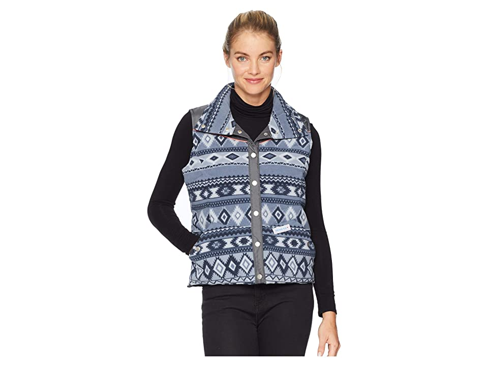 Obermeyer Carson Down Vest (Gunsmoke Print) Women