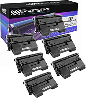 Speedy Inks Compatible Toner Cartridge Replacement for Xerox Phaser 4510 113R00712 High-Yield (Black, 6-Pack)