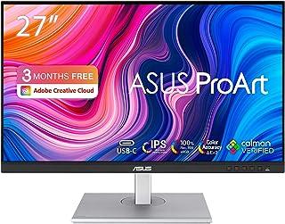 ASUS ProArt PA278CV – PC-scherm 27 inch – IPS – 2560 x 1440 – 350 cd/m² – 75 Hz – 2 x DisplayPort, HDMI, 4 x USB 3.1 en 1 ...