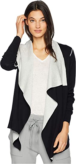 Luxe Cotton Blend Reversible Mock Neck Wrap