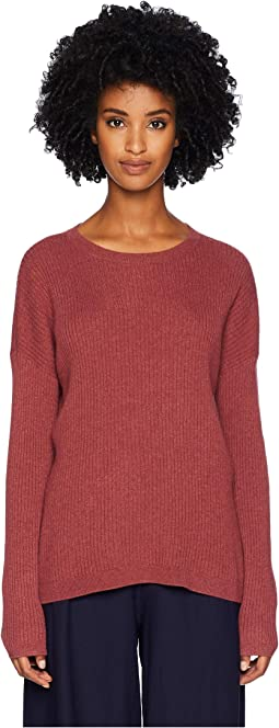 Italian Cashmere Round Neck Box-Top