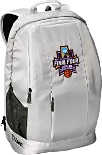 Wilson Sporting Goods NCAA Women's Final Four Backpack, Gray, 23x15