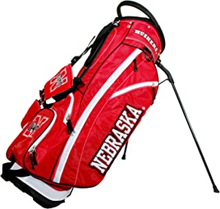 Team Golf NCAA Fairway Golf Stand Bag, Lightweight, 14-way Top, Spring Action Stand, Insulated Cooler Pocket, Padded Strap, Umbrella Holder & Removable Rain Hood