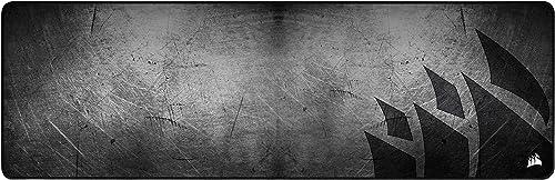 Corsair MM300 PRO Tapis de Souris Gaming, Tissu Résistant aux Éclaboussures Premium (Surface de 93 cm sur 30 cm, Text...