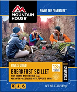 Mountain House Breakfast Skillet | Freeze Dried Backpacking and Camping Food