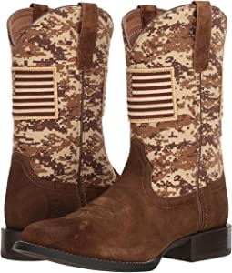 Ariat - Sport Patriot Round Toe