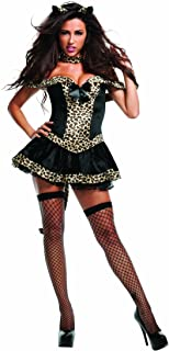 14bf1f3ac0b Starline Women s Sexy Fierce Bobcat Costume Set with Cat Ears