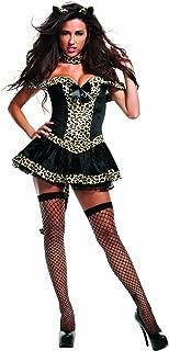 Starline Women's Sexy Fierce Bobcat Costume Set with Cat Ears
