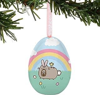 Department 56 6000390 Pusheen Easter Bunny Egg Hanging Ornament, 2.2