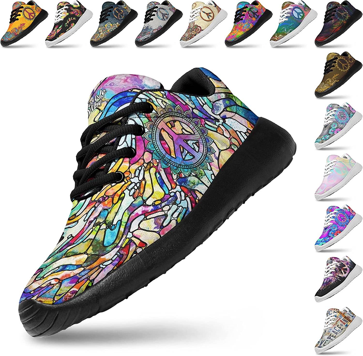 High quality new Artful San Jose Mall Vibes Womans Lightweight Fashion Athletic Sneaker Jogging