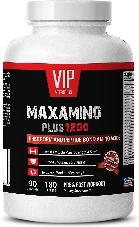 Amino acids ☆正規品新品未使用品 Supplements - MAXAMINO Increases 1200 毎日激安特売で 営業中です Plus Muscle