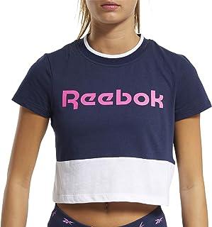 Reebok Te Linear Logo Crop Tee Tricot Femme