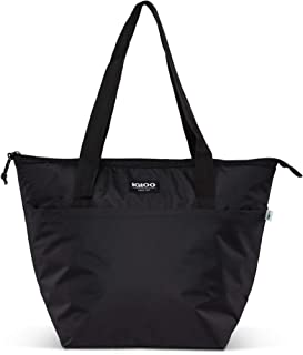 Igloo Repreve Recycled Performance Fiber 16 Can Avery Soft Side Cooler Tote Bag with Shoulder Straps and Exterior Pocket, ...