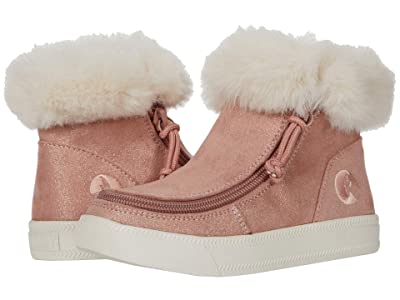 BILLY Footwear Kids Mid Top Luxe (Little Kid/Big Kid) (Blush Shimmer) Kid