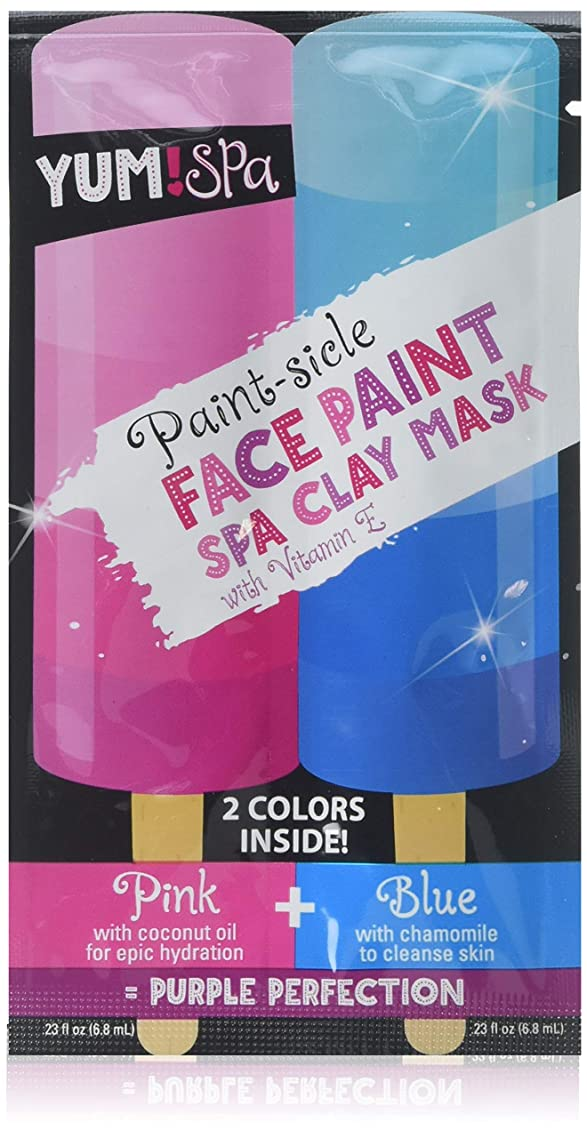 Yum Spa, Face Mask, Paint-sicle Face Paint, Spa Mask, Pack of 12