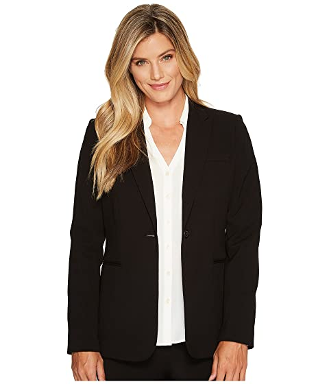 1 Button Black Jacket Calvin Klein vwEAIq5
