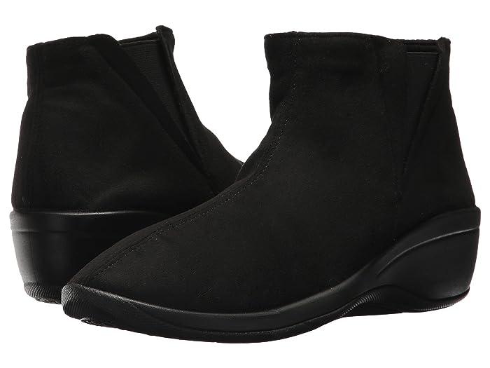 Arcopedico  Luana (Black Faux Suede) Womens  Shoes