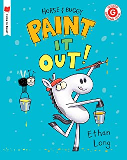 Horse & Buggy Paint It Out! (I Like to Read) (English Edition)