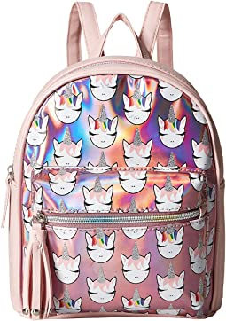 Ms Gwen Printed Holo Backpack