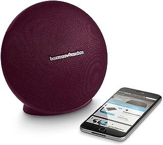 Harman/kardon - Onyx Mini Portable Wireless Speaker - Maroon/Red (Certified Refurbished)