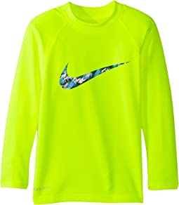 Nike Kids - Watercamo Long Sleeve Hydro Top (Little Kids)