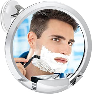 Fogless Shower Mirror with Built-In Razor Holder | 360° Rotation | Real Fog-Free Shaving | Adjustable Arm & | Shatterproof & Rust-Resistant | Non-Fogging Bathroom Mirror for Men and Women