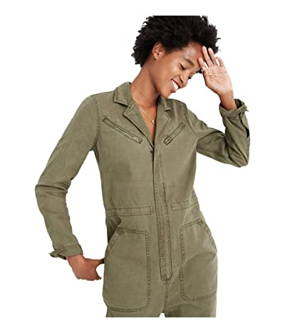 Madewell Flight Suit Coverall Jumpsuit (British Surplus) Women