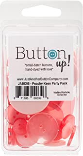 Button Up! Party Pack Buttons-Peachy Keen