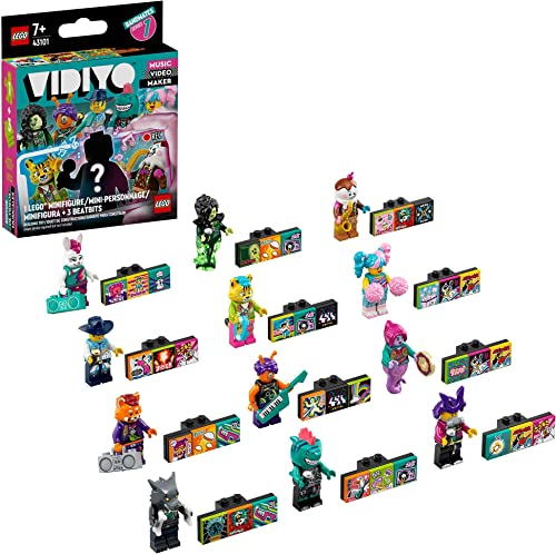 2021 LEGO outlet online sale VIDIYO Bandmates 43101 Building Kit; Creative Boys and Girls wholesale Will Love Directing, Producing and Starring in Exciting Music Videos; A Fun Range of Musical Stars for Kids to Collect, New 2021 online sale