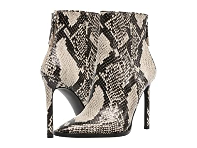 Steve Madden Odella Dress Bootie (Natural Snake) Women