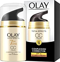 Olay Total Effects 7 en 1 CC Cream Anti-Edad Correctora de Tono Claro A Medio SPF15 - 50ml