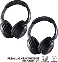 DRIVE AUDIO Wireless Headphones (2 Pack) for Honda & Acura by DriveAudio - Odyssey, CR-V, Accord, Pilot, Ridgeline, RDX, MDX